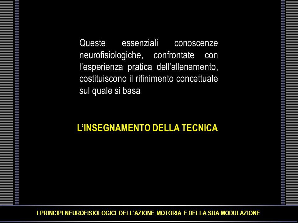 L'INSEGNAMENTO DELLA TECNICA