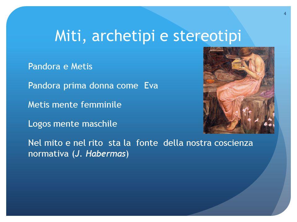 Miti, archetipi e stereotipi