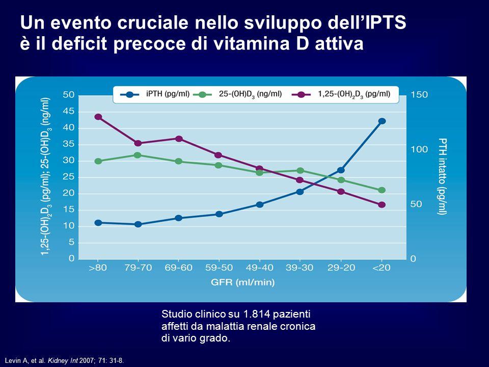 Un evento cruciale nello sviluppo dell'IPTS è il deficit precoce di vitamina D attiva
