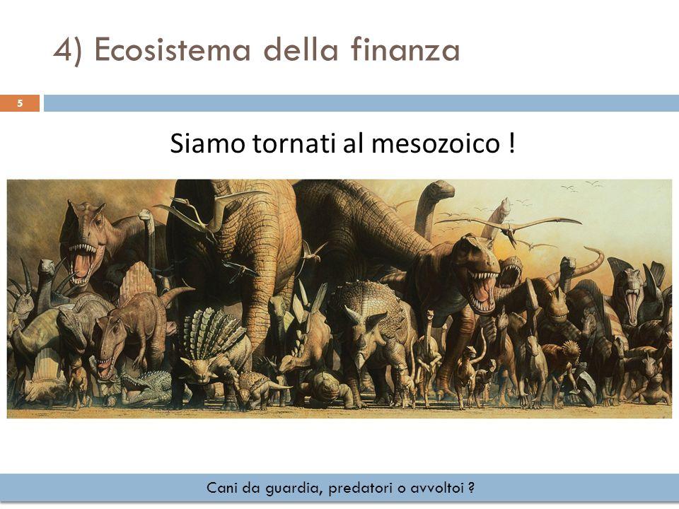 4) Ecosistema della finanza