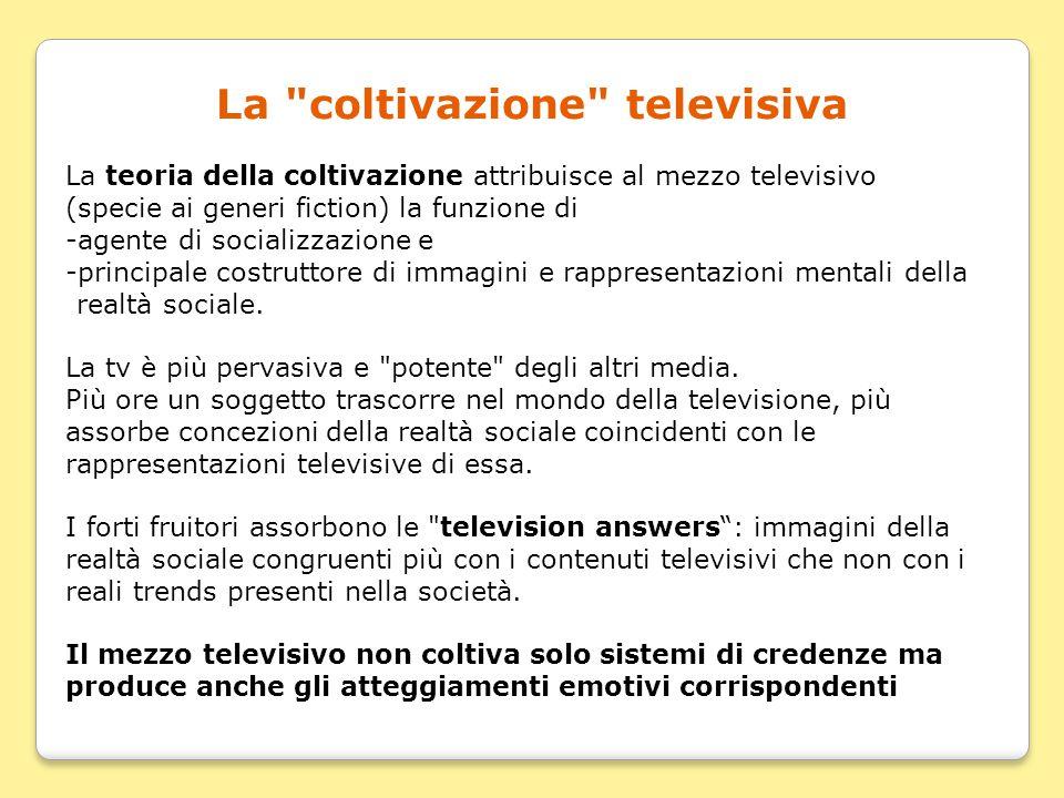 La coltivazione televisiva