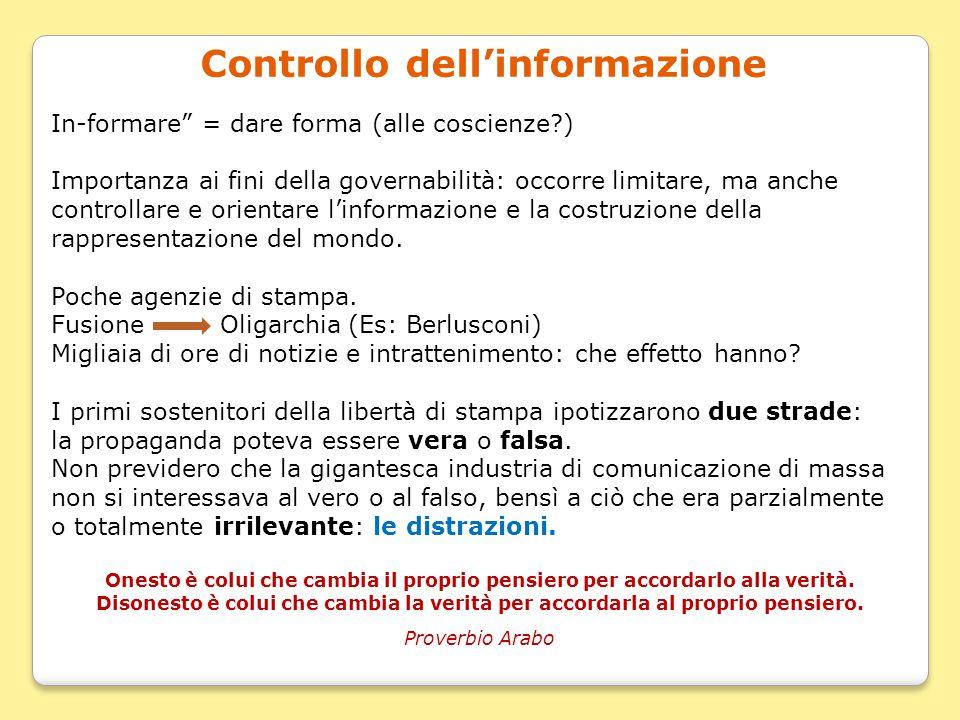 Controllo dell'informazione