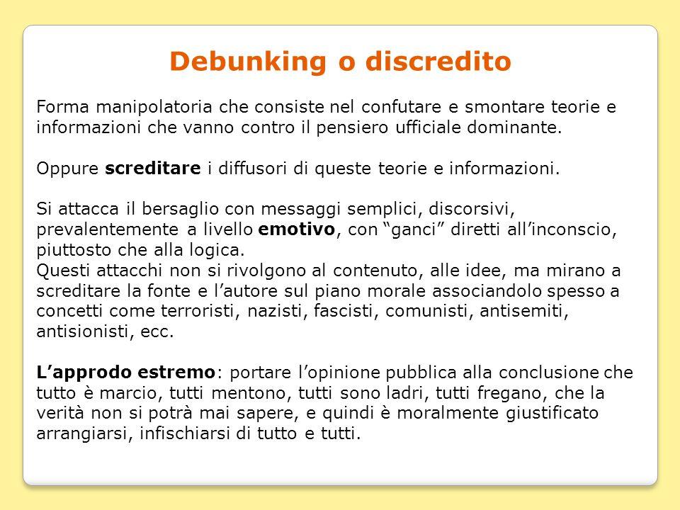 Debunking o discredito