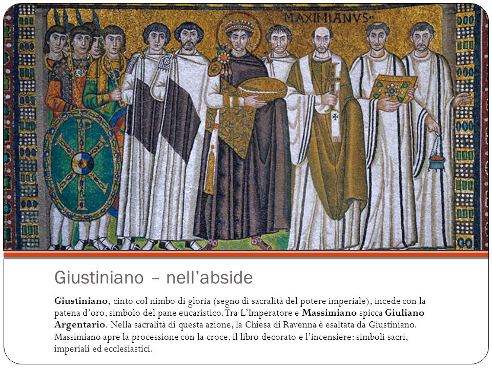 Giustiniano – nell'abside