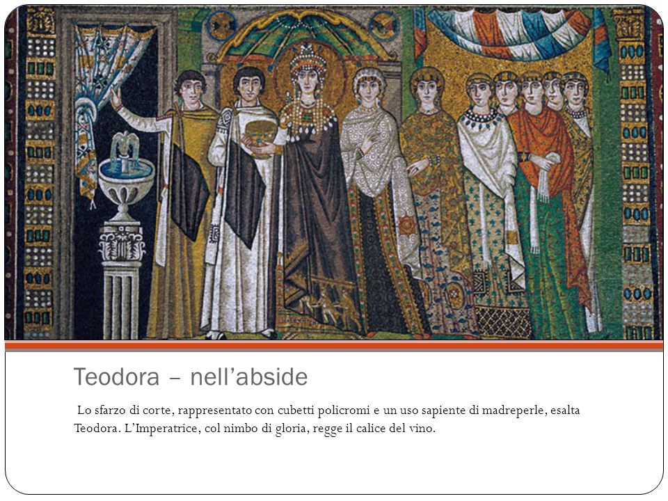 Teodora – nell'abside