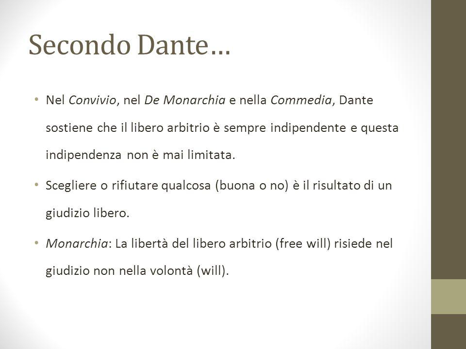 Secondo Dante…