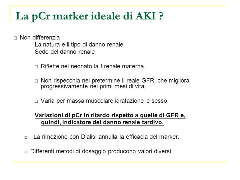 La pCr marker ideale di AKI