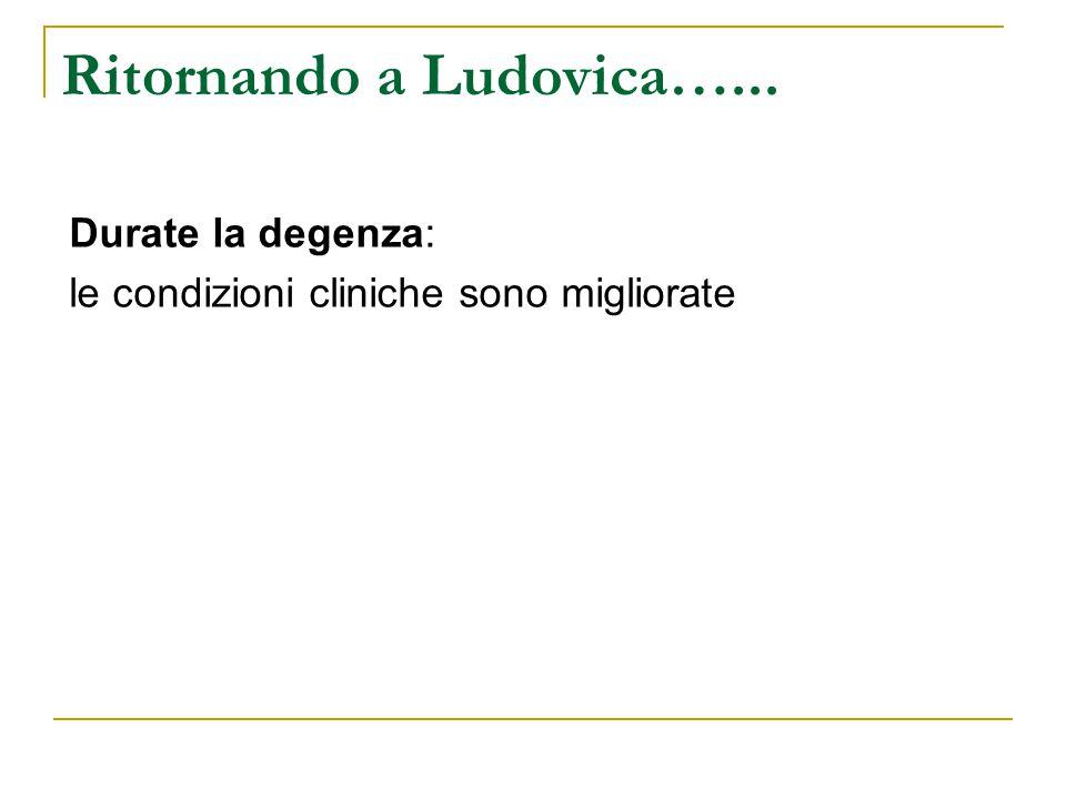 Ritornando a Ludovica…...