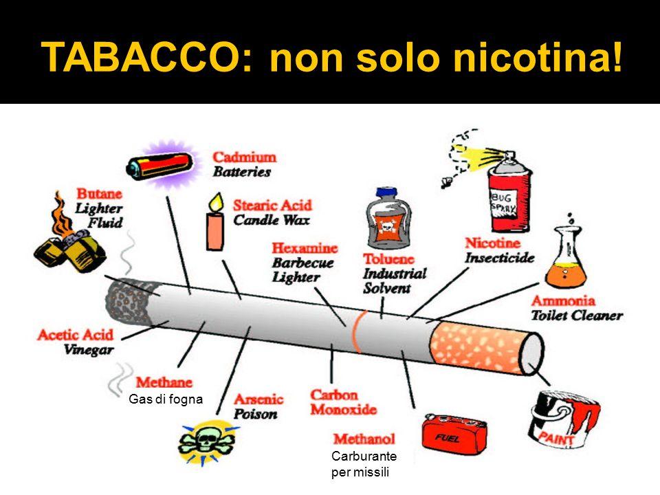 TABACCO: non solo nicotina!