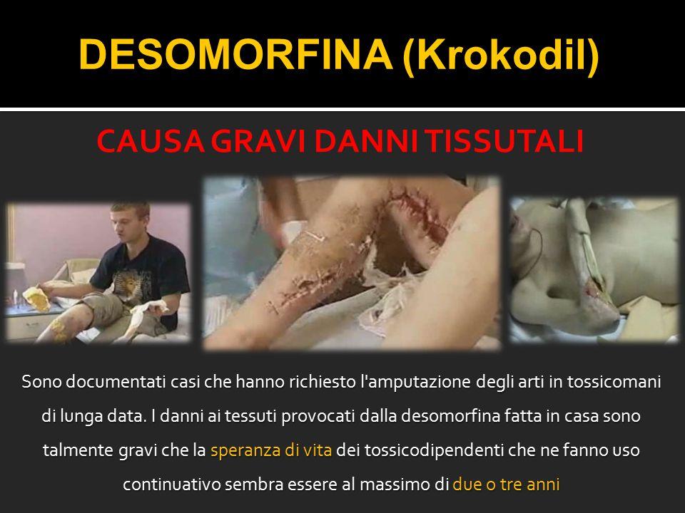 DESOMORFINA (Krokodil)