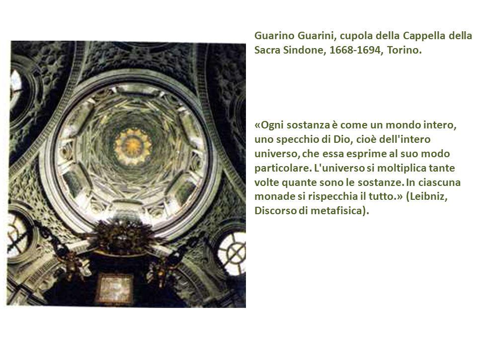 Guarino Guarini, cupola della Cappella della Sacra Sindone, 1668-1694, Torino.