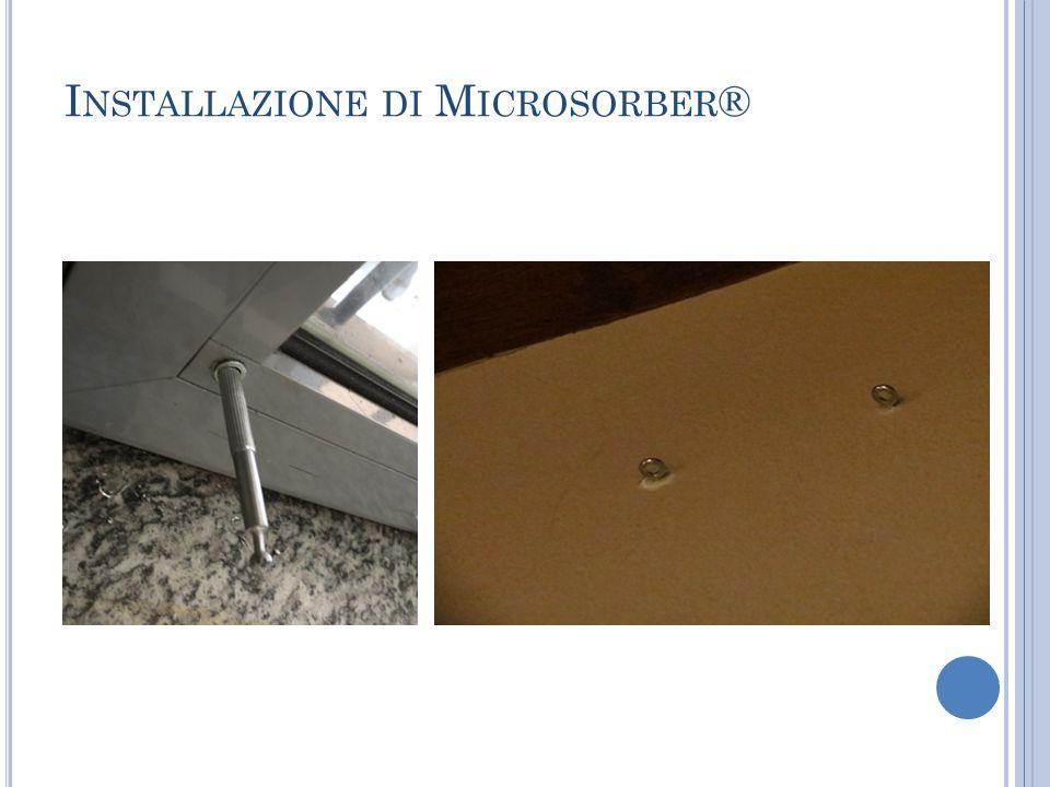 Installazione di Microsorber®