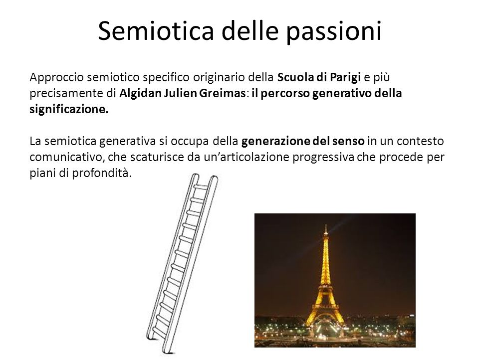 Semiotica delle passioni