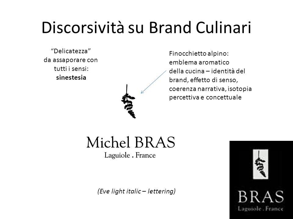 Discorsività su Brand Culinari