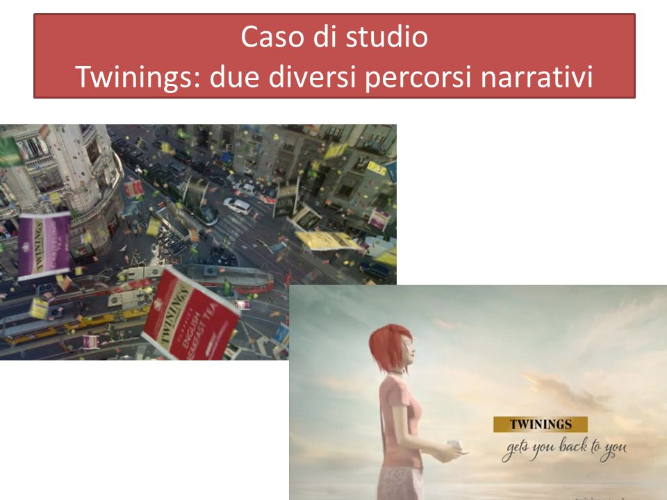 Caso di studio Twinings: due diversi percorsi narrativi