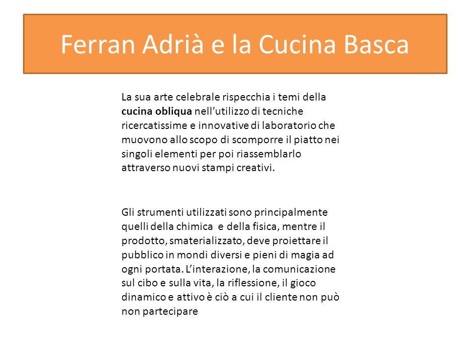 Ferran Adrià e la Cucina Basca