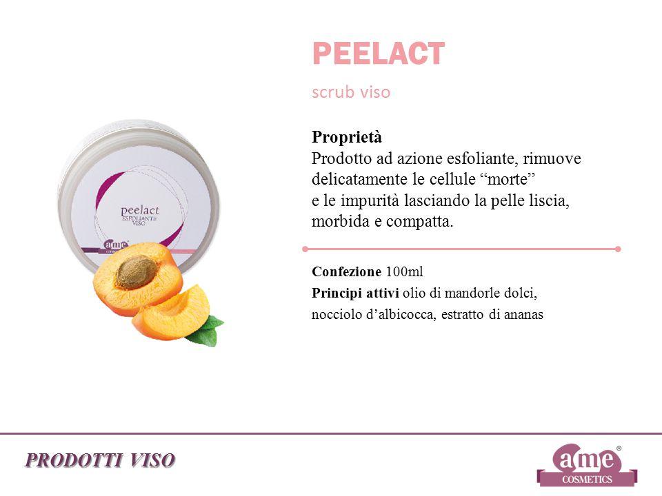 PEELACT scrub viso PRODOTTI VISO Confezione 100ml