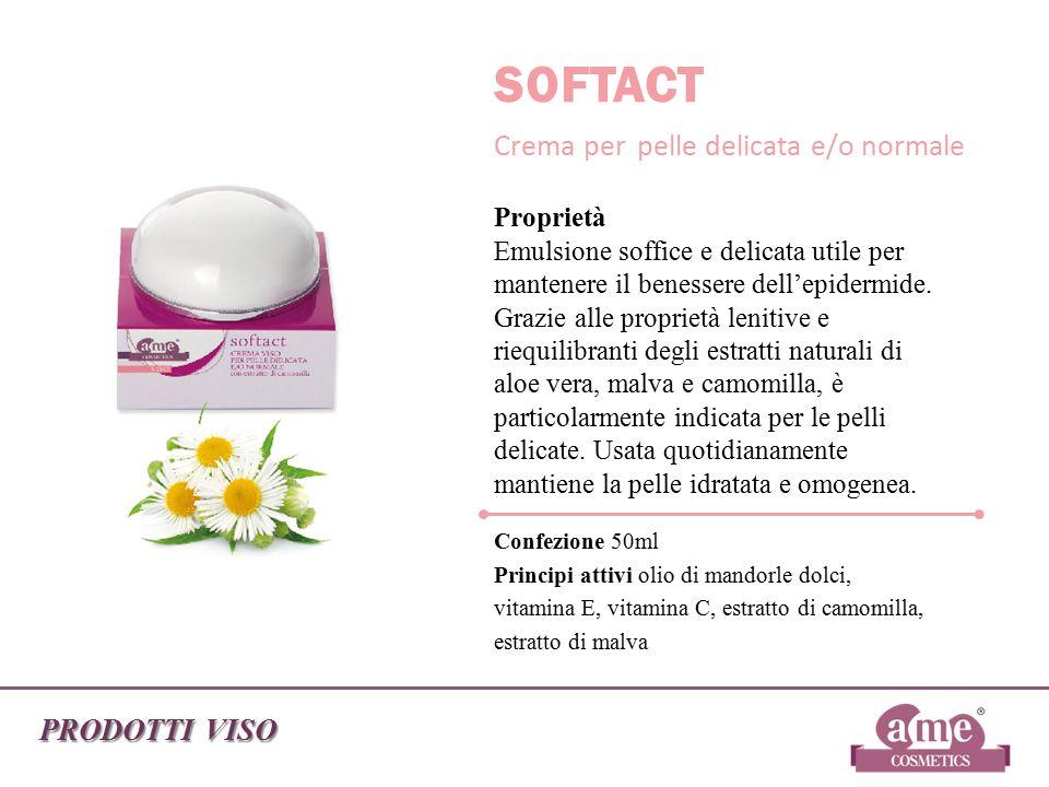SOFTACT Crema per pelle delicata e/o normale PRODOTTI VISO