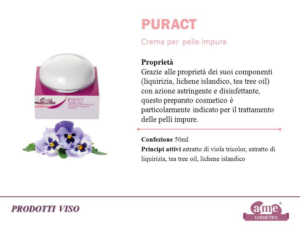 PURACT Crema per pelle impura PRODOTTI VISO Confezione 50ml