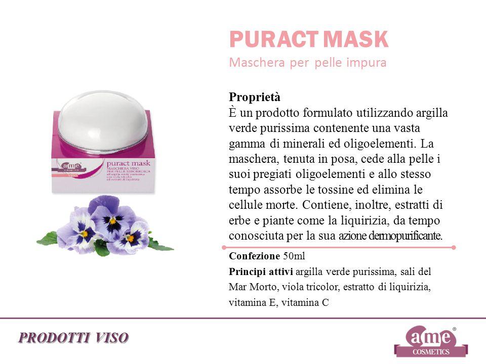 PURACT MASK Maschera per pelle impura PRODOTTI VISO Confezione 50ml