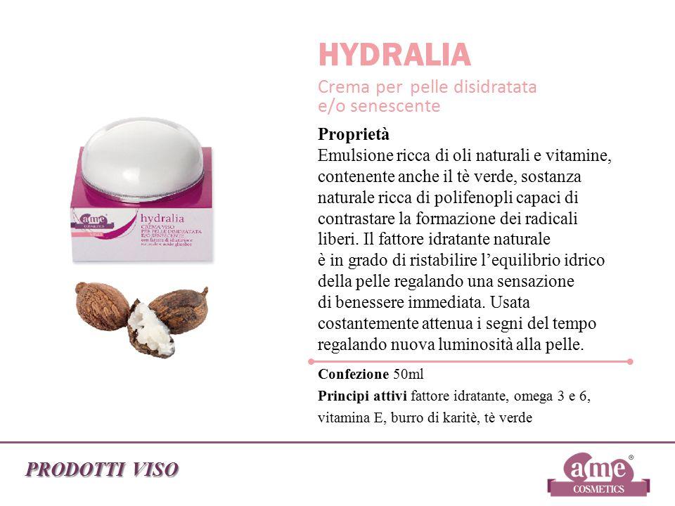 HYDRALIA Crema per pelle disidratata e/o senescente PRODOTTI VISO