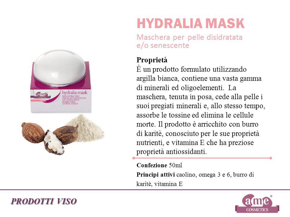HYDRALIA MASK Maschera per pelle disidratata e/o senescente