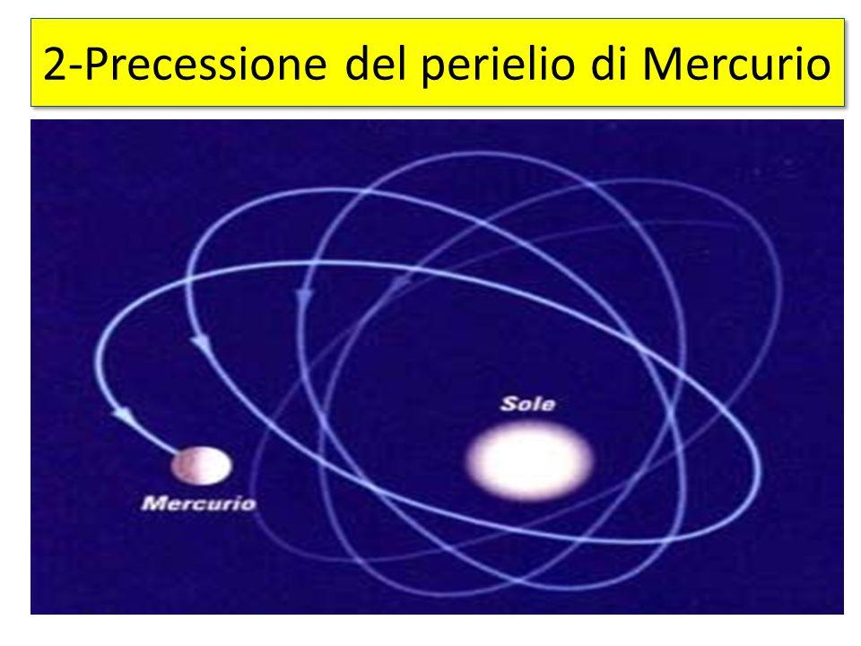 2-Precessione del perielio di Mercurio