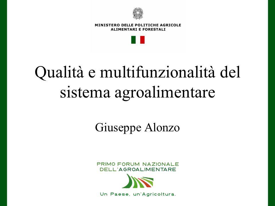 Qualità e multifunzionalità del sistema agroalimentare