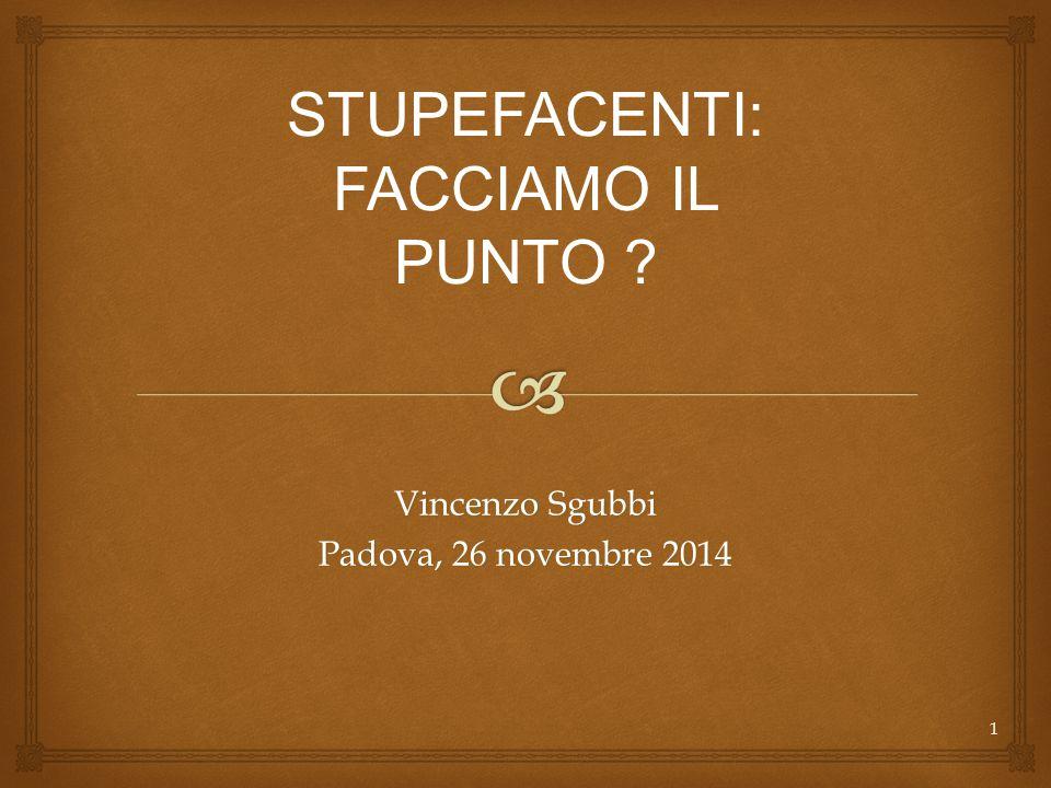 Vincenzo Sgubbi Padova, 26 novembre 2014