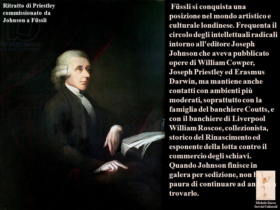 Ritratto di Priestley commissionato da