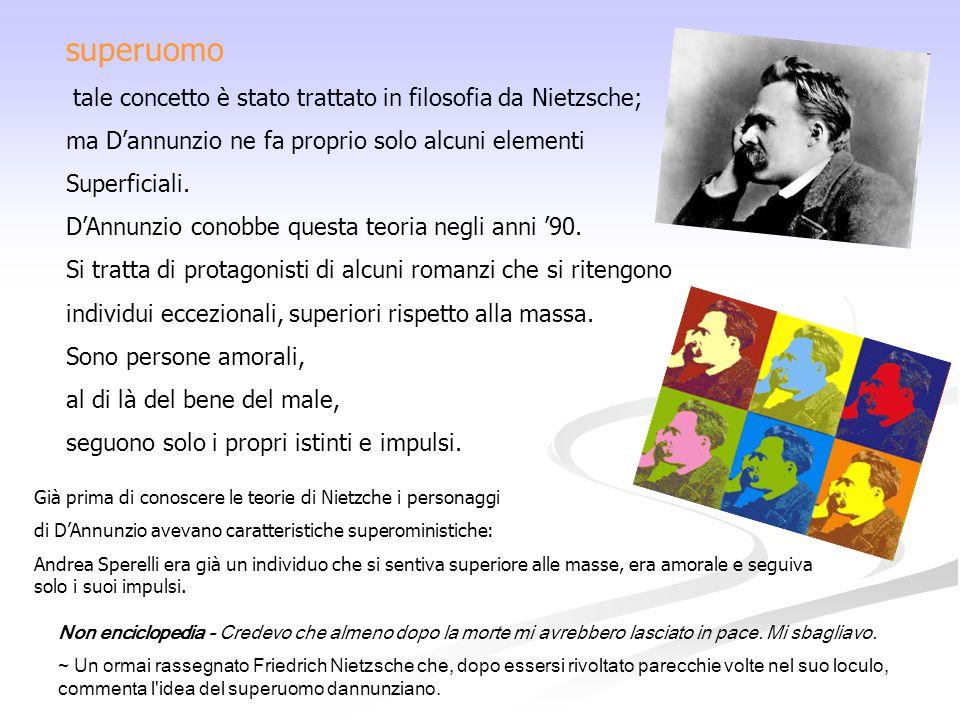 superuomo tale concetto è stato trattato in filosofia da Nietzsche;
