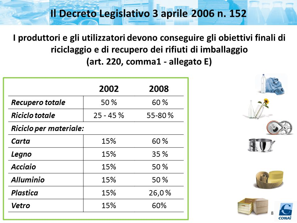 Il Decreto Legislativo 3 aprile 2006 n. 152