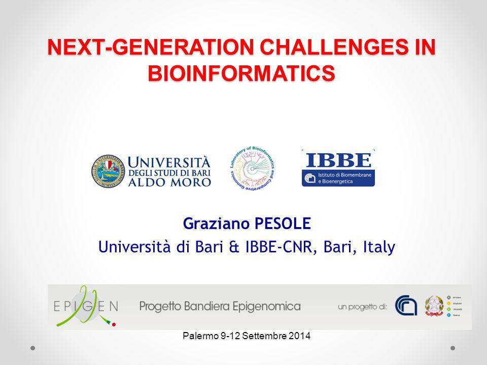 NEXT-GENERATION CHALLENGES IN BIOINFORMATICS
