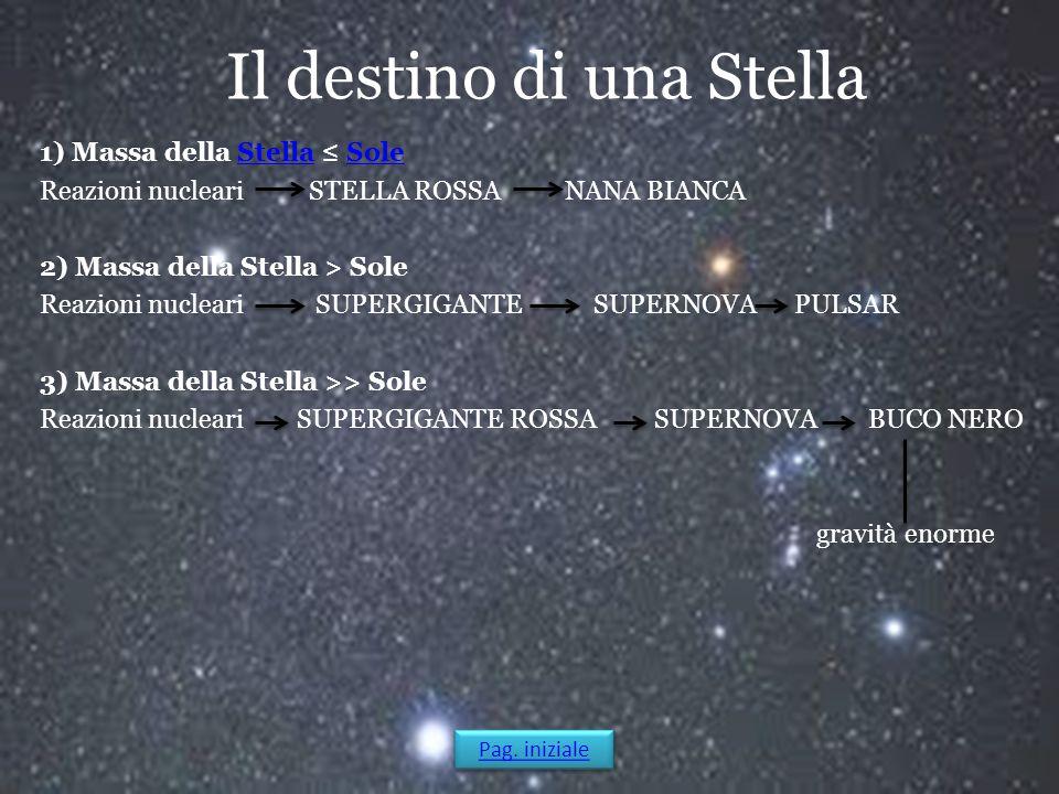 Il destino di una Stella