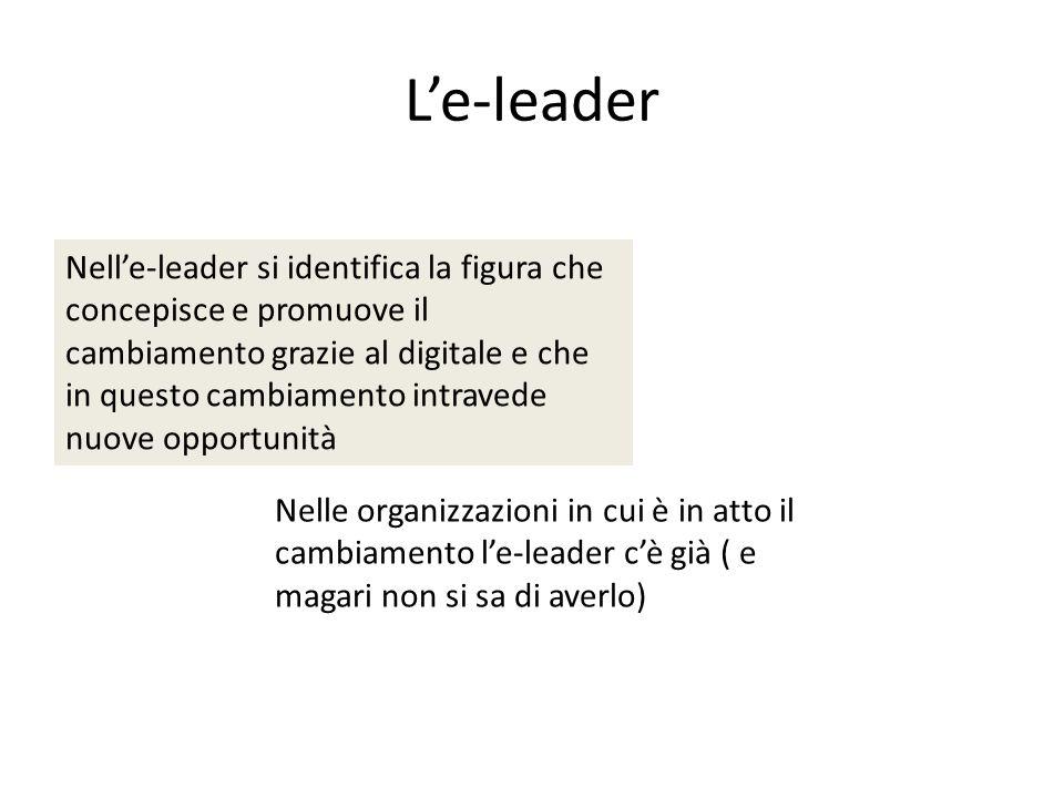 L'e-leader