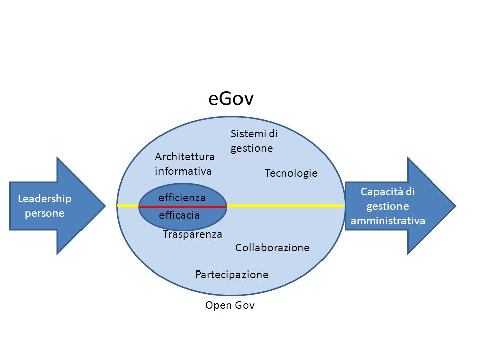 Capacità di gestione amministrativa