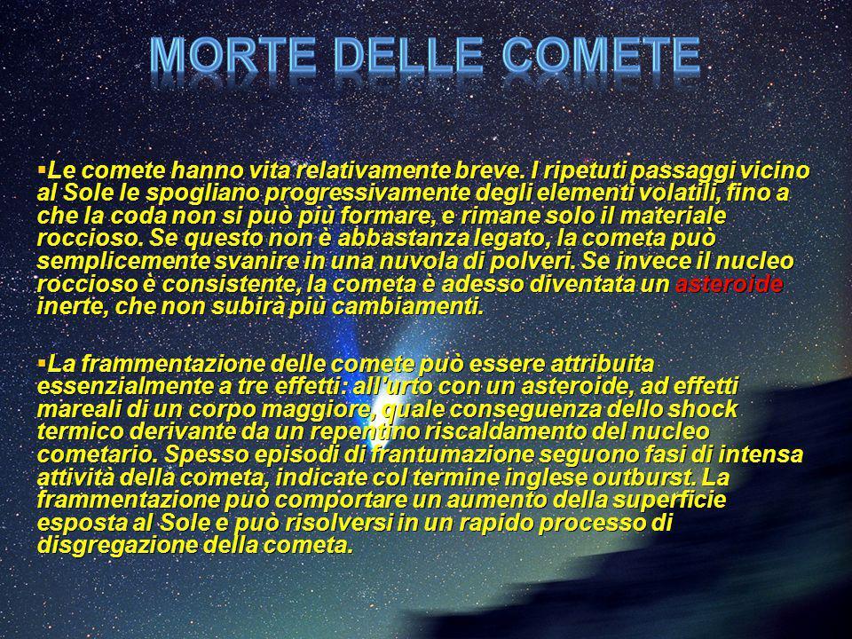 Morte delle comete