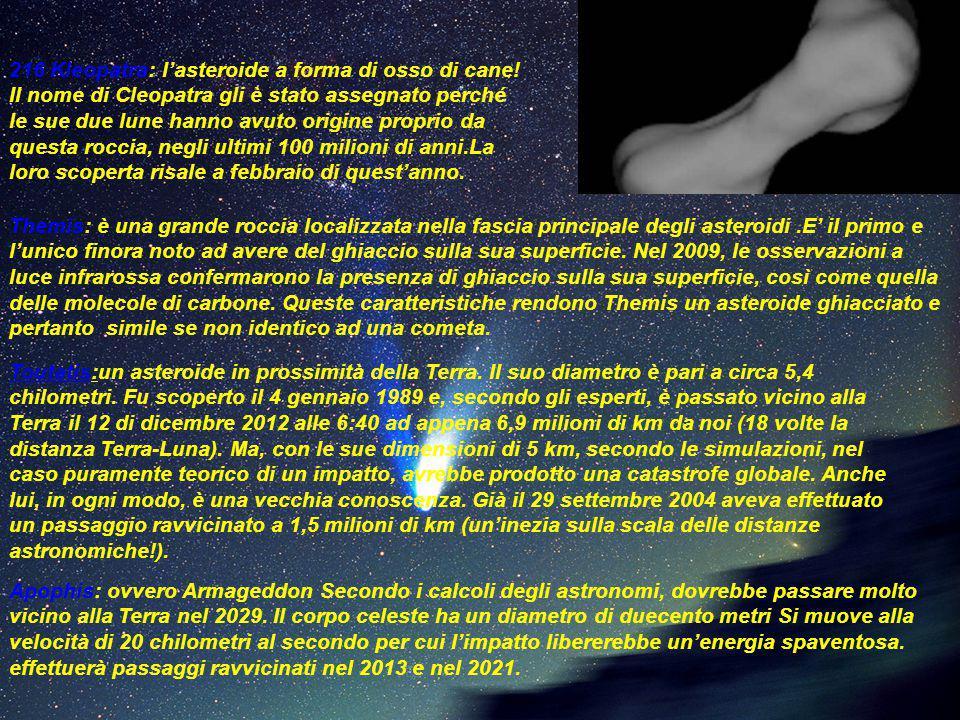 216 Kleopatra: l'asteroide a forma di osso di cane