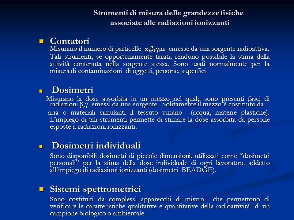 Sistemi spettrometrici