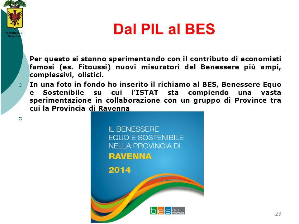 Dal PIL al BES