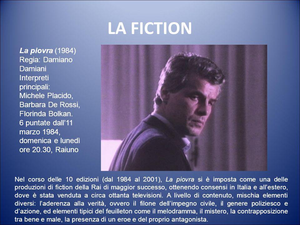 LA FICTION La piovra (1984) Regia: Damiano Damiani