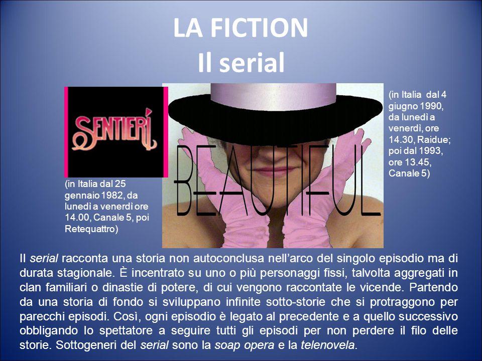 LA FICTION Il serial (in Italia dal 4 giugno 1990, da lunedì a venerdì, ore 14.30, Raidue; poi dal 1993, ore 13.45, Canale 5)