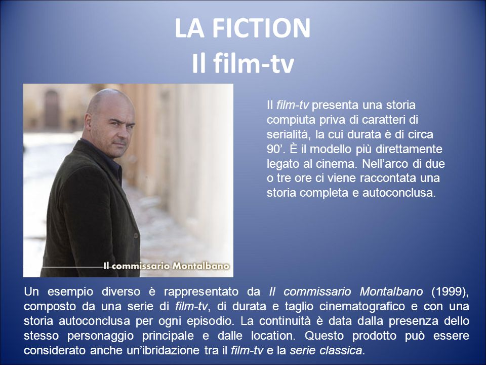 LA FICTION Il film-tv