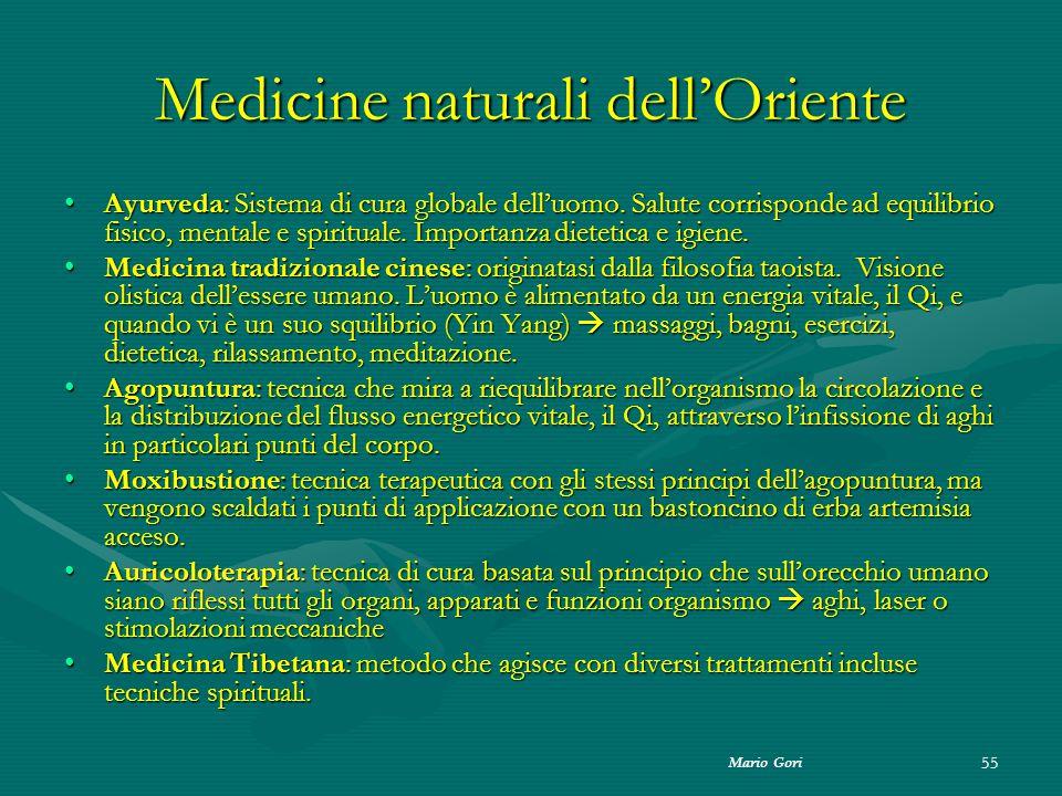 Medicine naturali dell'Oriente