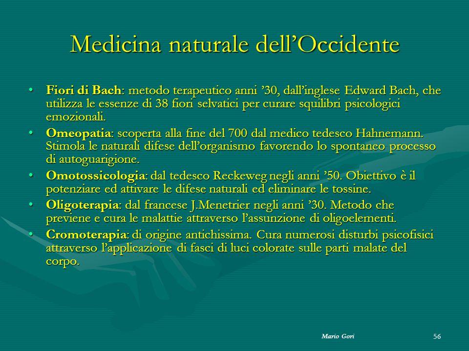 Medicina naturale dell'Occidente