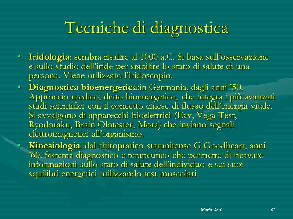 Tecniche di diagnostica