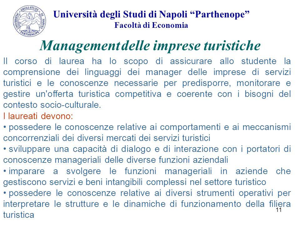 Management delle imprese turistiche
