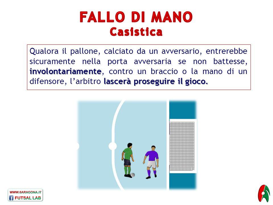 FALLO DI MANO Casistica