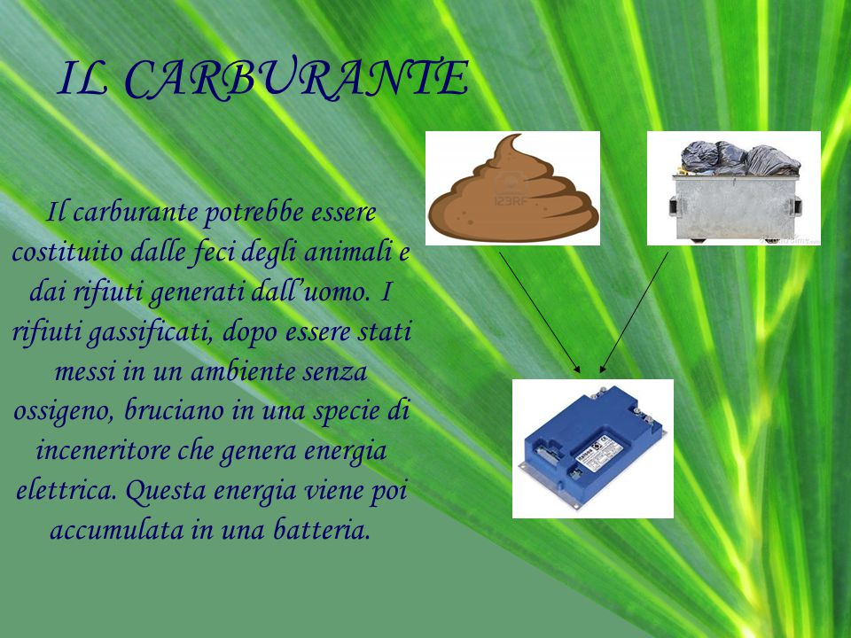 IL CARBURANTE