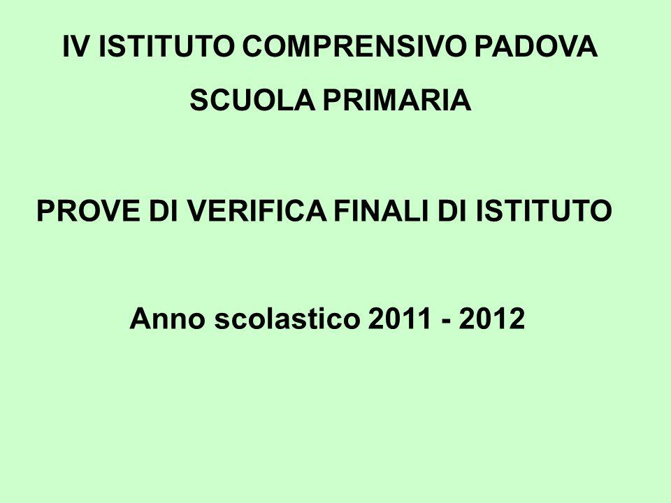 IV ISTITUTO COMPRENSIVO PADOVA